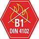 B1 schwer entflammbar