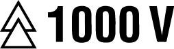 Isolierte VDE Klinge bis 1.000 Volt