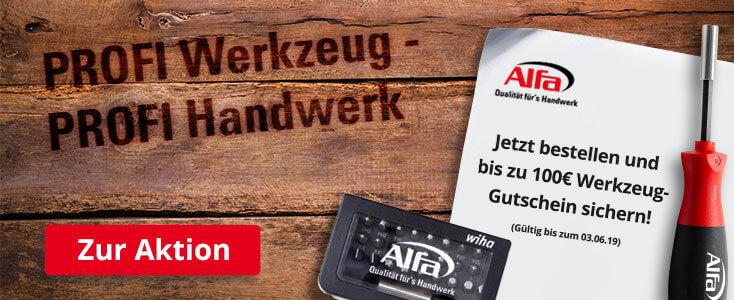 Alfa Direkt - Qualität für\'s Handwerk, neue Produkte in unserem ...