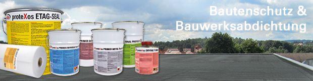 Bautenschutz und Bauwerksschutz