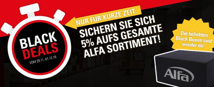 Alfa Black Deals