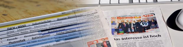 Pressebereich der Alfa GmbH