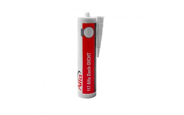 Abdichtmasse Alfa Dach-DICHT 300 ml transparent