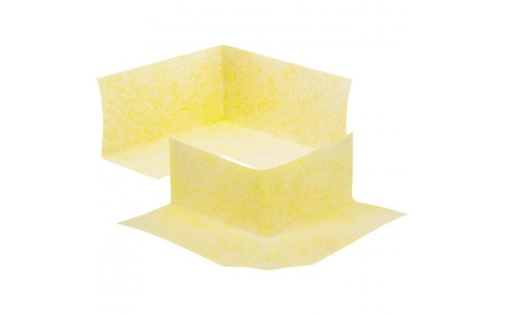 Beidseitig vliesbeschichtete Ecken aus Polyethylen