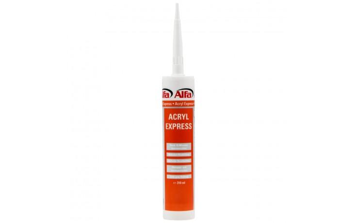 Acryl Express - extrem schnell härtender Dichtstoff