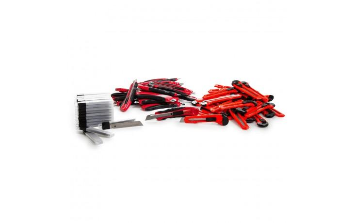 Praktisches Set zum Testen der Alfa Cuttermesser Profi & Cuttermesser Standard und den dazugehörigen Ersatzklingen.