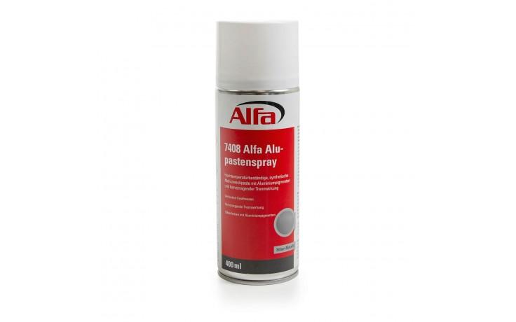Hochtemperaturbeständige, synthetische Mehrzweckpaste mit Aluminiumpigmenten