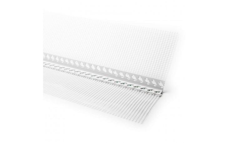 Weichmacherfreies, robustes, gelochtes Hart-PVC-Bewegungsfugenprofil
