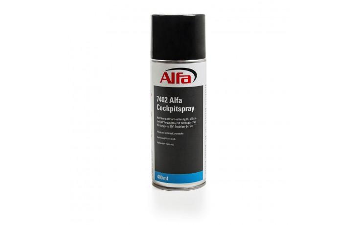 Hochtemperaturbeständiges, silikonfreies Pflegespray mit antistatischer Wirkung und UV-Strahlen-Schutz