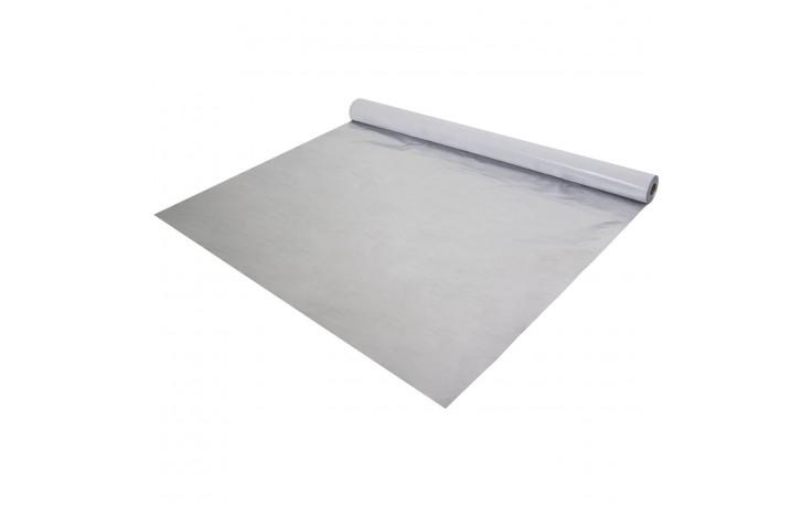 Vollflächig selbstklebende Aluminium Dampfsperrbahn mit einem Flächengewicht von 155 g/m²