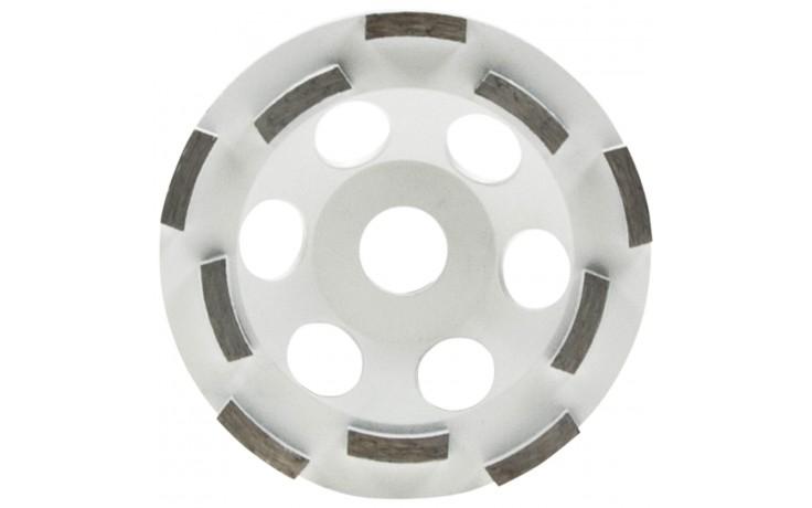 Extrem leistungsfähiger, doppelt belegter Diamant-Schleiftopf Abrasiv für Beton- & Winkelschleifer zum Abschleifen & Begradigen von Estrich & abrasiven Materialien.