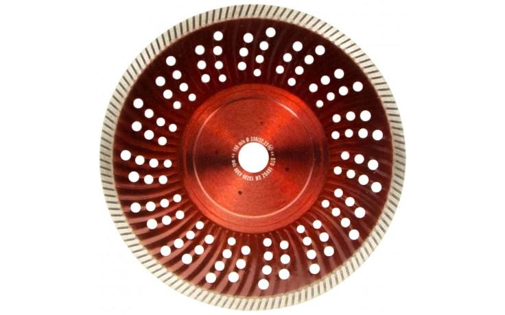 Trennscheibe für saubere Schnittkanten bei Trocken- und Nassschnitte zum Trennen von Dachziegel, Dachpfannen, Dachstein, Waschbeton & Naturstein.