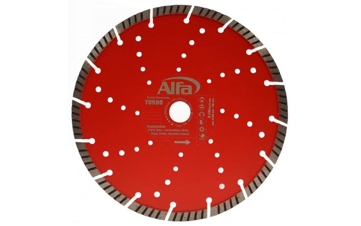 Diamant-Trennscheibe mit 10 mm Turbo Segmentierung
