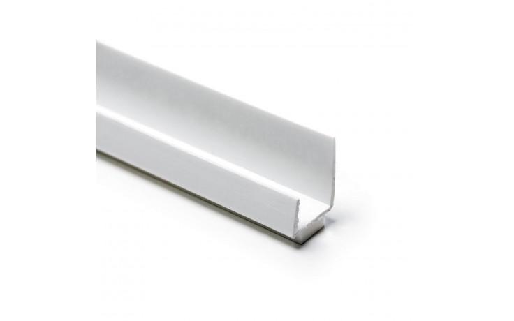 Profil aus schlagzähem Hart-PVC mit Schaumband