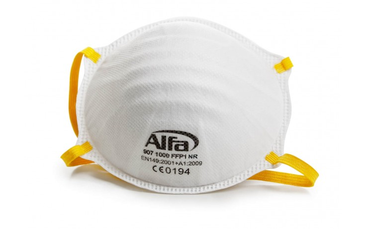 Feinstaubmaske FFP1 ohne Ventil
