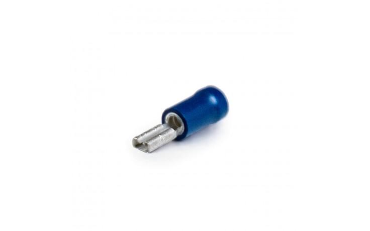 Flachsteckhülse blau Querschnitt 1,5 - 2,5 mm² Steckbreite 8,0 mm