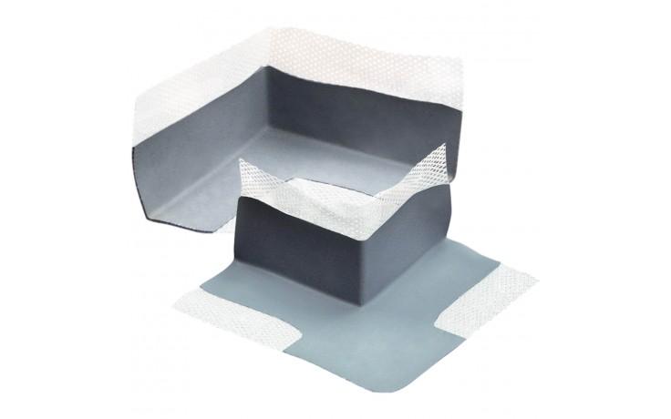 Elastisches Flüssigfolien Formstück zum Abdichten von Ecken