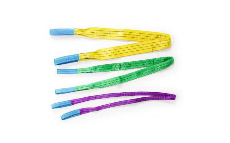 Flexible Polyester-Hebbänder mit 7:1 Sicherheitsfaktor nach EN 1492-1