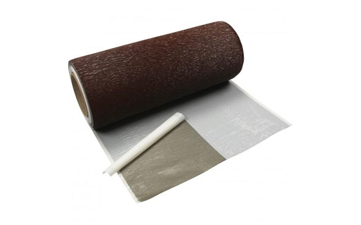 Dehnbares Anschlussband mit gestretchtem Aluminium und vollflächiger Butylbeschichtung