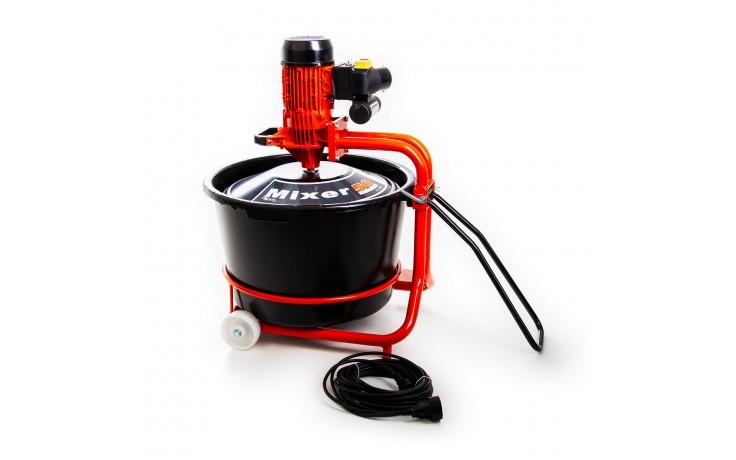 Kübelmischer 1200 Watt - Kapazität von 50 Liter/Durchgang