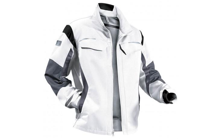 969 Kübler pulsschlag Arbeitsjacke Farbe weiß - Normale Herrengröße