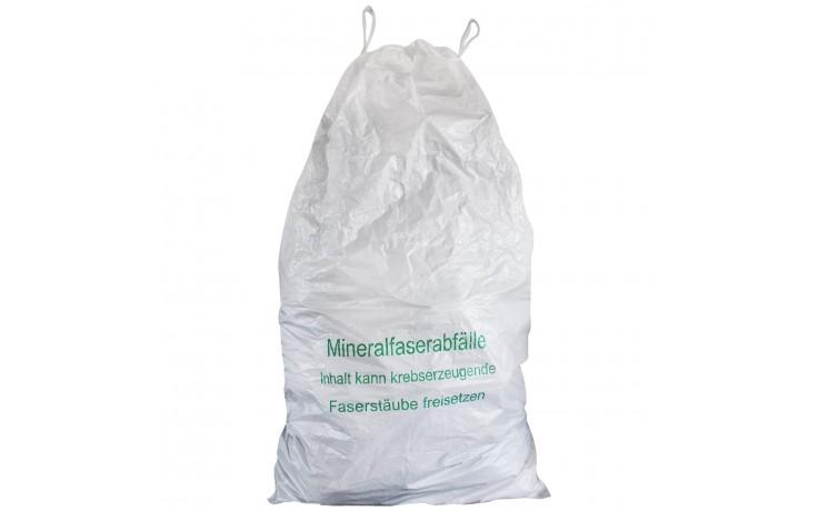 Der 927 Alfa Mineralwollsack mit Hebeschlaufen ist ideal für den sicheren Transport und die Entsorgung von Mineralwolle geeignet.
