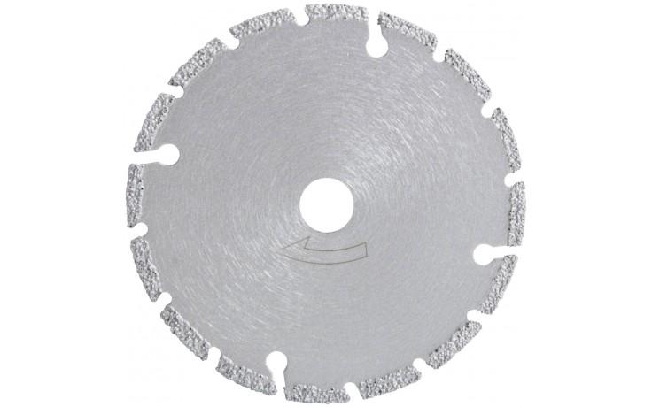Profi Mini-Diamant-Trennscheibe mit 3 mm Segmentierung