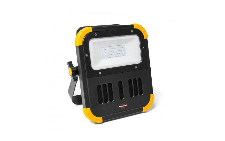 LED Strahler mit schnell austauschbarem Akku.