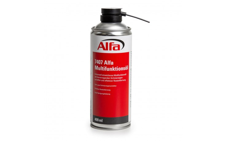 Universell einsetzbares Multifunktionsöl mit hervorragenden Schmiereigenschaften und effektiver Rostentfernung