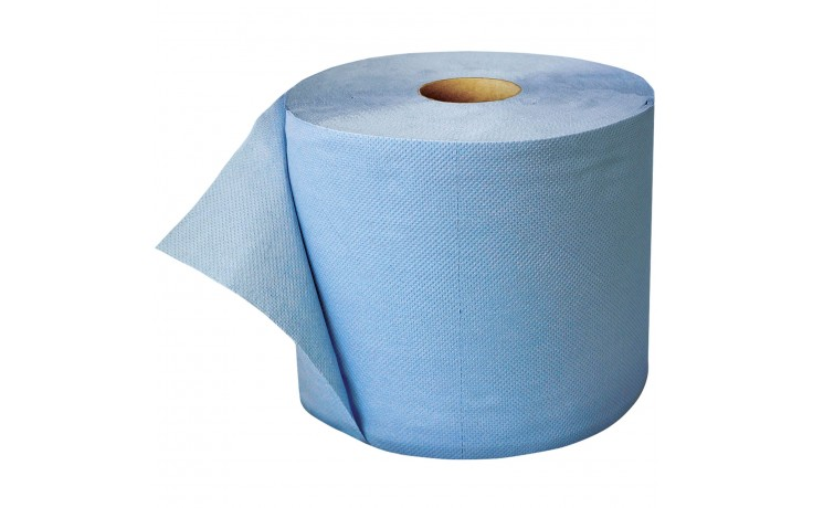 Putztuchrolle aus Papiertüchern für leichte bis grobe Verschmutzungen