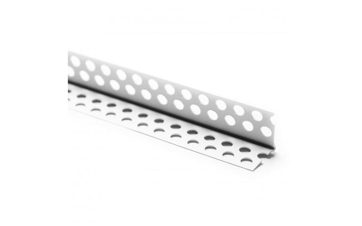 Aus Hart-PVC bestehendes, Längsrillen besitzendes Kantenprofil