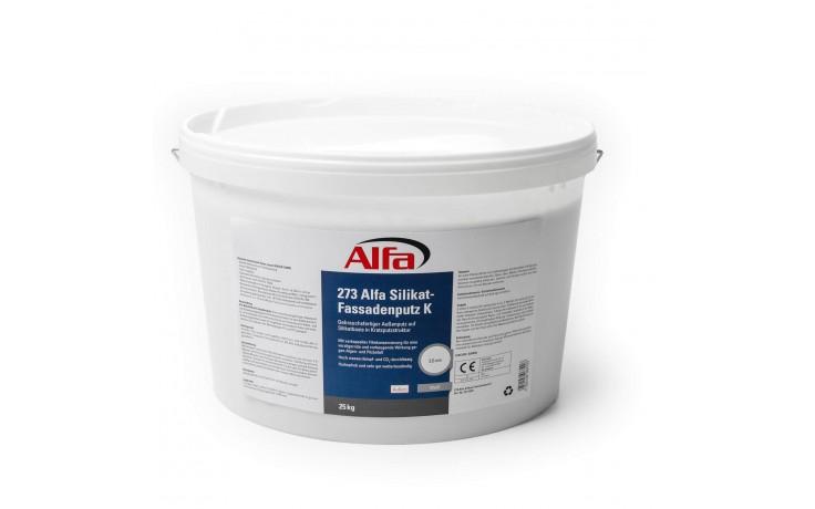 Gebrauchsfertiger Außenputz auf Silikatbasis in Kratz- und Reibeputzstruktur