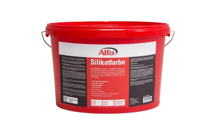 Hochdeckende, feuchteregulierende, gebrauchsfertige Dispersions-Silikatfarbe nach DIN 18 363