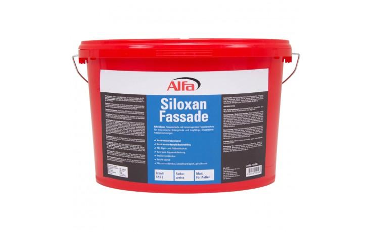 Wasserabweisende, diffusionsoffene Silikonharz-Reinacrylat-Fassadenfarbe mit Algen- und Pilzbefallschutz
