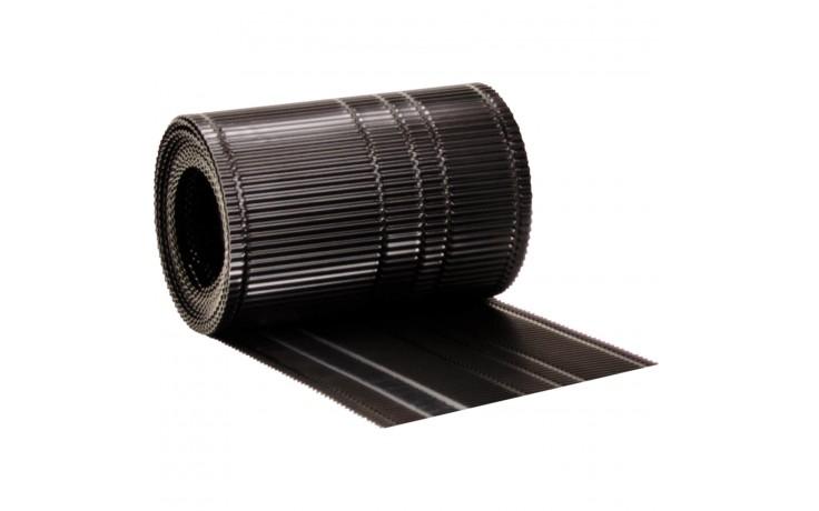 Rinneneinlauf in Rollenform für den optimalen Übergang zwischen Traufe und Rinne zur Abführung von Regenwasser in die Dachrinne.