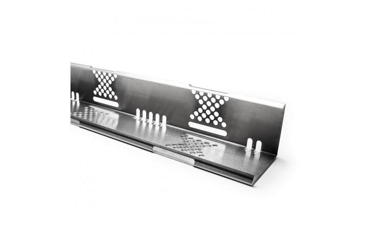 Kiesfangleiste aus hochwertigem Aluminium inkl. Stoßverbinder