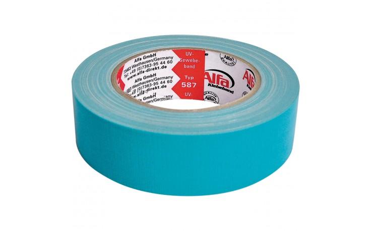 Alfa UV-Gewebeband Blau gute Witterungsbeständigkeit