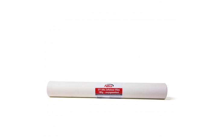 Vorpigmentiertes Glattvlies mit besonders glatter und gleichmäßiger Oberfläche und 130 g/m²
