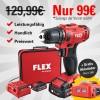 998 Alfa FLEX Akku-Bohrschrauber gratis Akkulader im Wert von 29 €