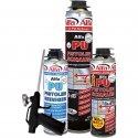 Schaum-Set mit hochwertigen Alfa-Produkten