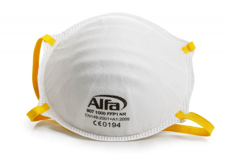 907 Alfa Feinstaubmaske FFP1 (ohne Ventil)