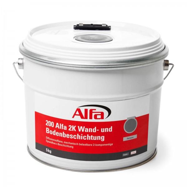 200 Alfa 2K Wand- und Bodenbeschichtung