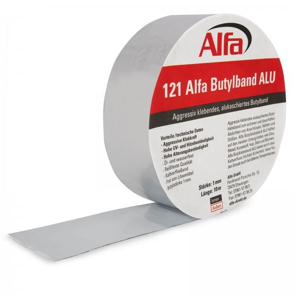 121 Alfa Butylband ALU (alukaschiert)