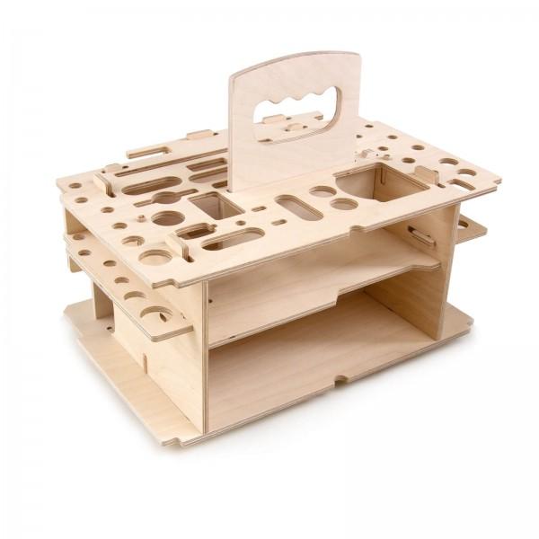 7040 Alfa Holzeinsatz für den Alfa Systemkoffer