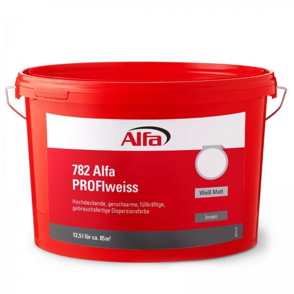 782 Alfa PROFIweiss (Dispersionswandfarbe innen)