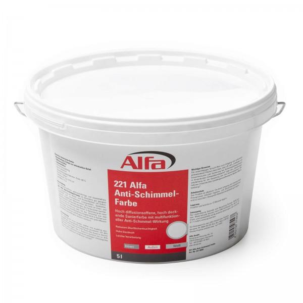 221 Alfa Anti-Schimmel-Farbe