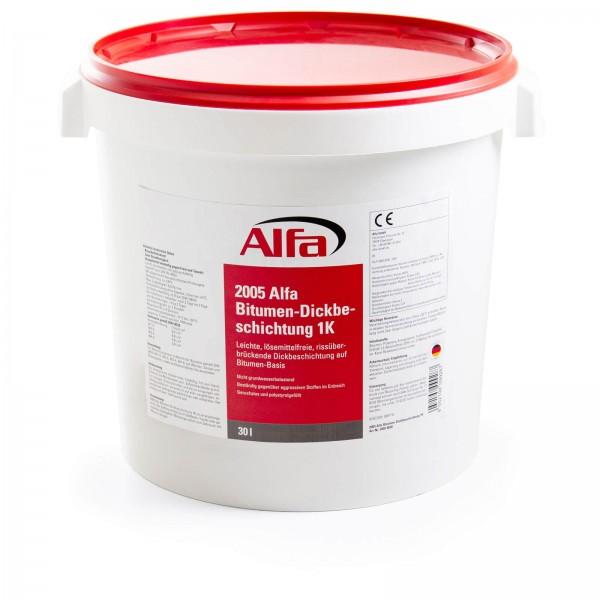 2005 Alfa Bitumen-Dickbeschichtung 1K