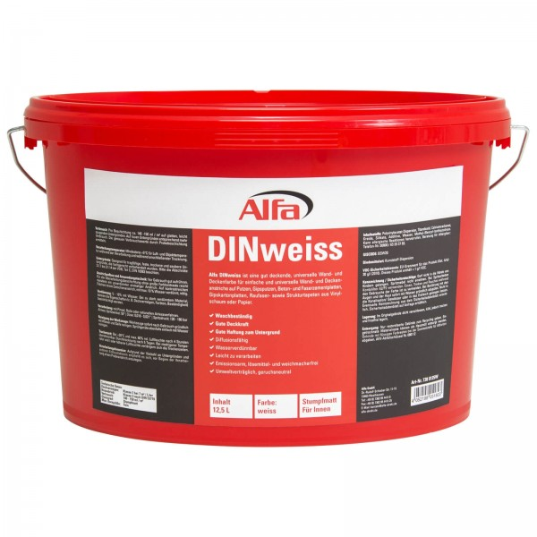 738 Alfa DINweiss (Dispersionswandfarbe)