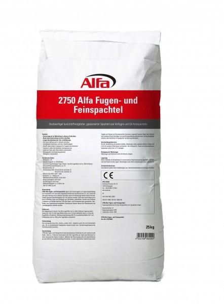 2750 Alfa Fugen- und Feinspachtel