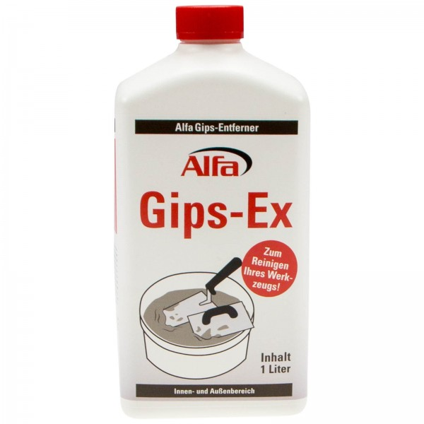 743 Alfa Gips-Ex Gipsentferner